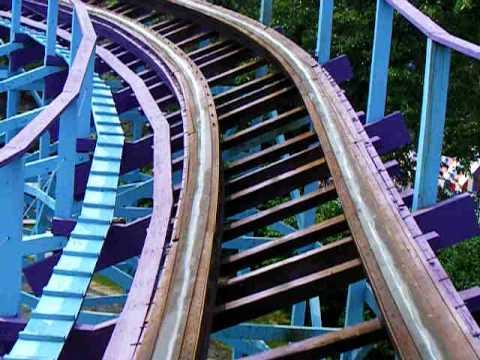 Kingdom Coaster at Dutch Wonderland - On Ride Video - YouTube