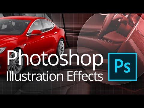 Photoshop Illustration Techniques (Live Streamed)