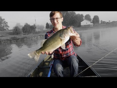 Early Morning Bass Fishing!
