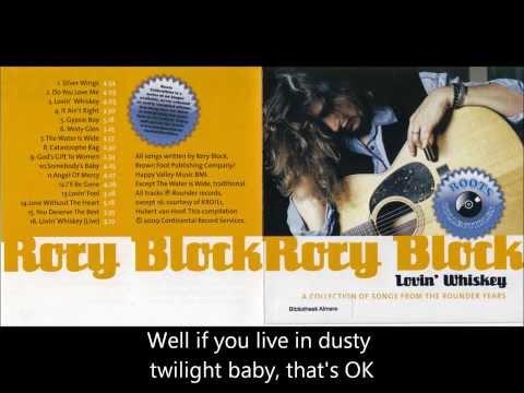 Rory Block  - Lovin' Whiskey (with lyrics)