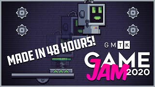 Making a game in 48 hours! - GMTK Game Jam 2020 (Indie Game Devlog)