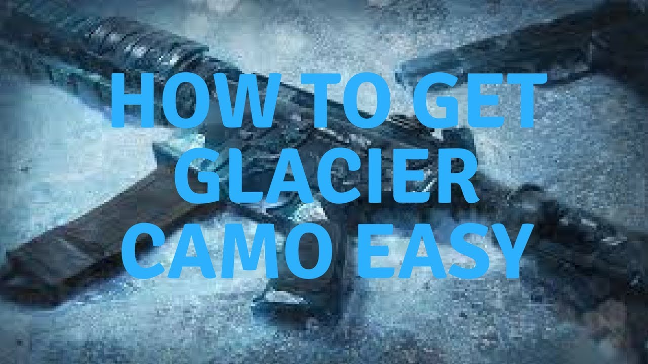 HOW TO GET GLACIER CAMO IN YEAR 2 *EASY* + 50 ALPHA PACKS