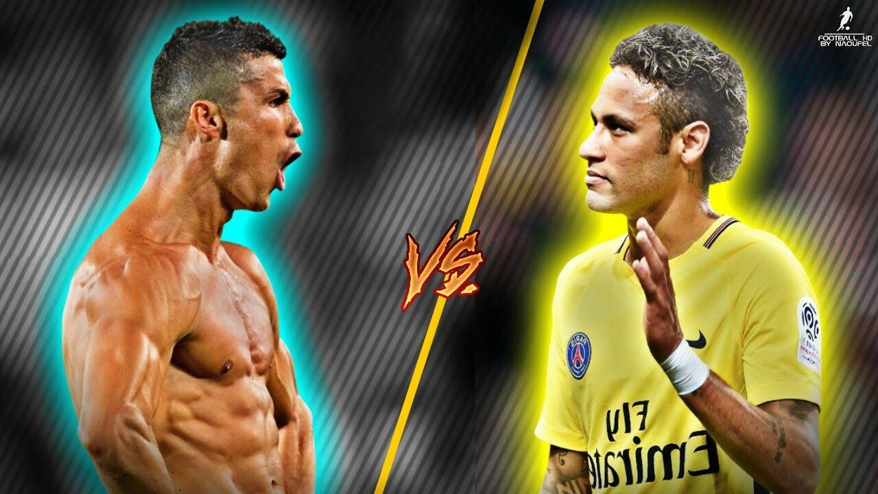 Cristiano Ronaldo VS Neymar Jr 2017/18 It ain't me VS ...