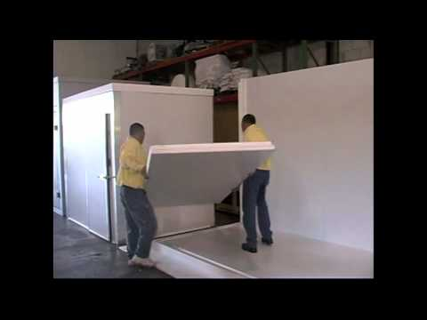 Walk-in Coolers and Walk-in freezers Installation Process