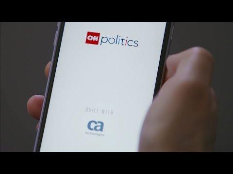 CNN Politics App, Built with CA Technologies.