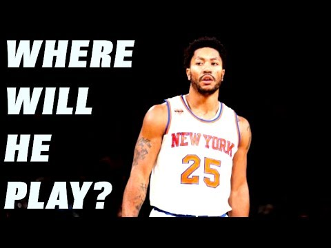 What Team Will DERRICK ROSE Join for the 2017-18 NBA Season?