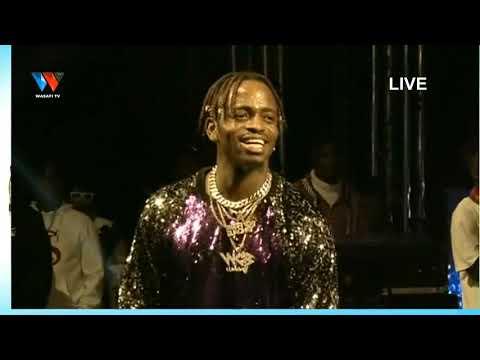 Live : #DIAMOND AKI PERFORM NDANI YA WASAFI FESTIVAL NAIROBI {KENYA}