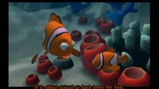 Finding Nemo Movie Game Walkthrough Part 1 (GameCube)