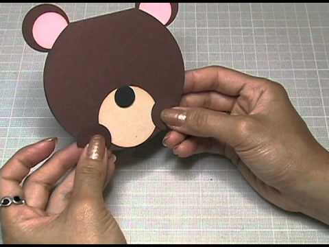 KUKU CARD Teddy Bear Invitation Osito YouTube
