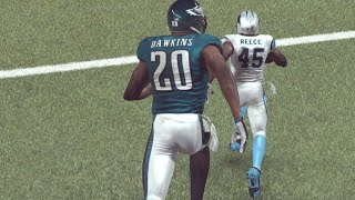 SCARY 9 FEET TALL 99 OVERALL Dawkins BIGGEST GLITCH EVER!  Madden 16 Ultimate Team Gameplay