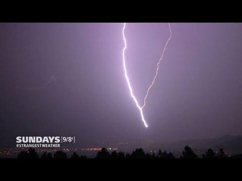 Strangest Weather On Earth: Freaky Lightning!