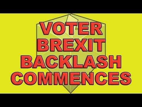 Voter Brexit Backlash Commences!