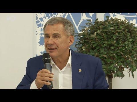 Минниханов в Сочи призвал привлечь нацпроекты в районы: «В селах тоже наши люди живут!»