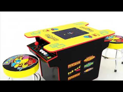 New Arcade1Up Cocktail Arcade Cabinets Pac Man Street Fighter Arcade 1UP
