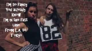 """Fancy"" by Iggy Azalea, cover by CIMORELLI Lyrics video"
