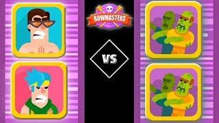 Bowmasters Halloween Update   Kiteboarder and Ninjaboy VS Zombies   (iOS) 2018 FHD (Part 2)