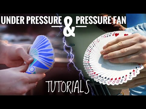 Under Pressure & Pressure Fan // CARDISTRY TUTORIALS