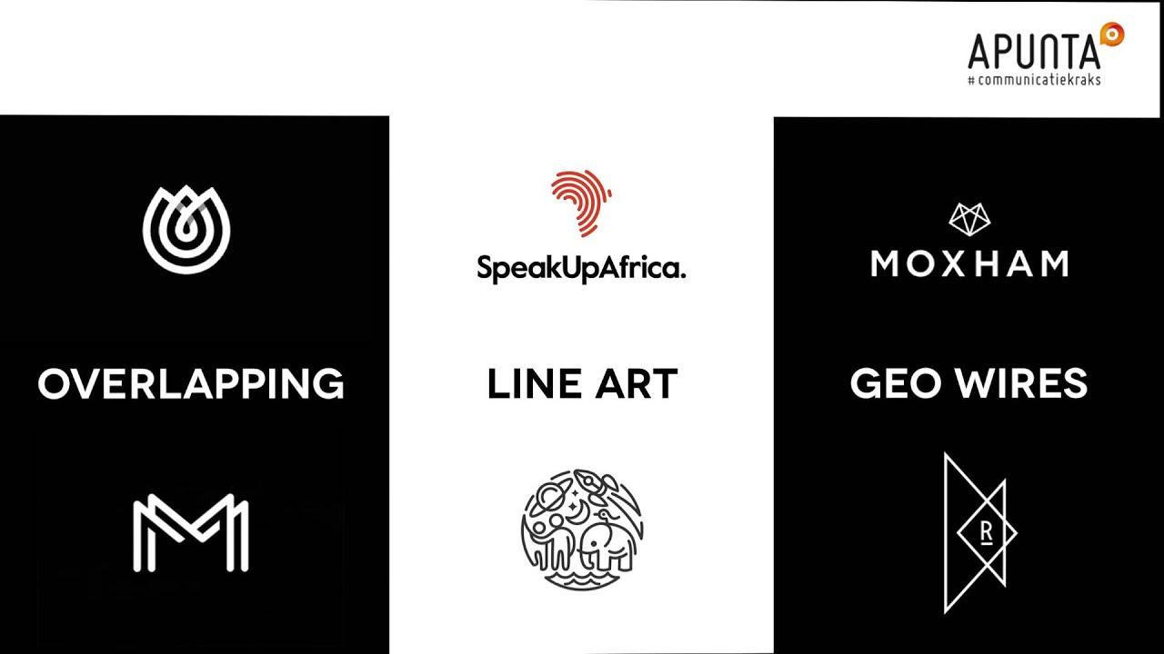 Modern Logo Design Trends: Design Trends 2015 By Apunta Deel 3 Logodesign
