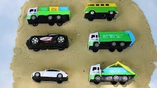 พาเด็กๆมารู้จัก รถของเล่นชนิดต่างๆ | รถเครน รถขยะ รถโรงเรียน รถแม็คโคร รถบดถนน