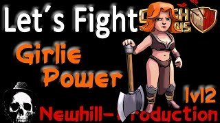 Clash of Clans ... - Wallküren lvl 2 ... Girlie Power!!!