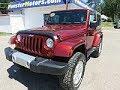 2008 Jeep Wrangle 2D Convertible Sahara