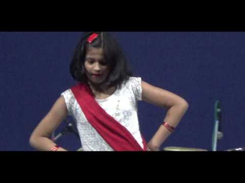 Katyayani sao perfoming on O RE PIYA song of Kamladevi college...