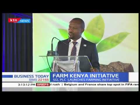 Standard group plc has introduced the farm Kenya initiative