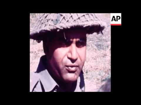 SYND 2 12 71 SCENES SHOWING INDIAN POSITIONS ON BORDER WITH PAKISTAN