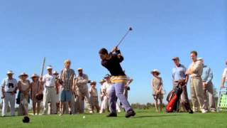Bradley Hughes Golf- Happy Gilmore & The Right Leg