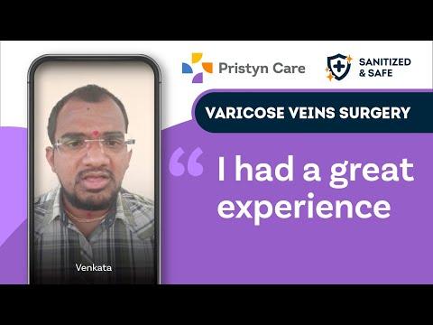 @Pristyn Care provides best treatment for Varicose Veins, says Venkata