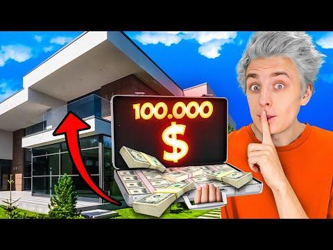 Я СПРЯТАЛ 100,000$ В ОГРОМНОМ ОСОБНЯКЕ !!