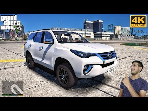 GTA 5 : IMPORTING TOYOTA FORTUNER FROM INDIA 😍