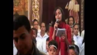 كورال ابتدائى مارجرجس بقفط  وعظة دكتور صموئيل ماهر 8/12/2016