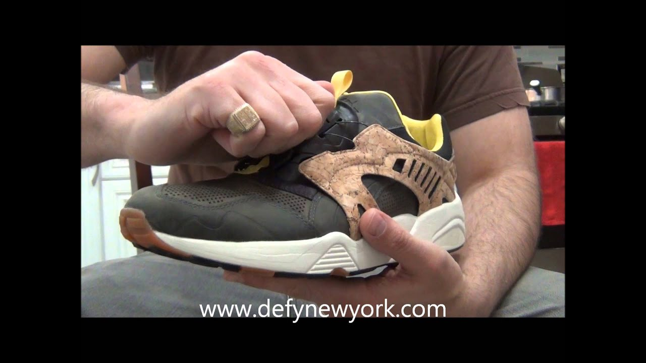 LIVE! On Feet Puma Disc Leather Disc Cage Lux Opt 2