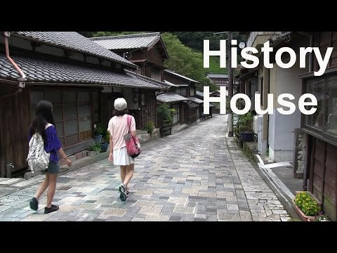 WALKING IN JAPAN - Japan history house and Meiji Tunnel - Lost Japan