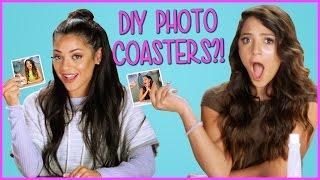 DIY Photo Coasters?! | NIKI & GABI DIY or DI-Don't