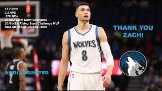 ZACH LAVINE MINNESOTA TRIBUTE. THANK YOU ZACH.