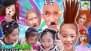 おもしろすぎ!家族みんなのヘアに爆笑★ヘアサロンミー ★ thumbnail