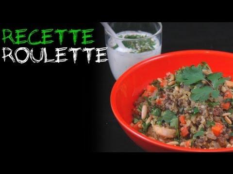 Recette : Wok lentilles quinoa et poulet !