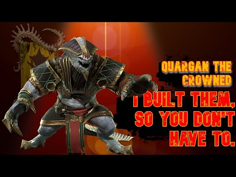 QUARGAN the BOLD | I Built Them, So You Don't Have To | RAID: Shadow Legends