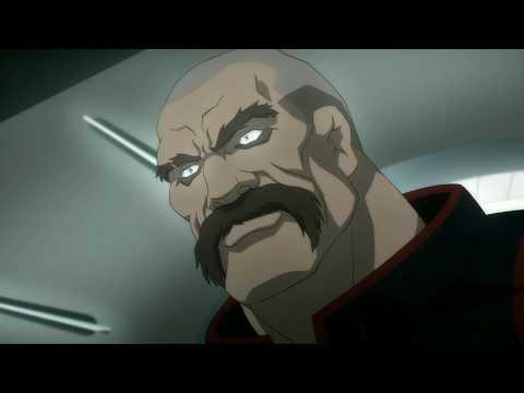 Amanda Waller Kills KGBeast - Batman Assault On Arkham