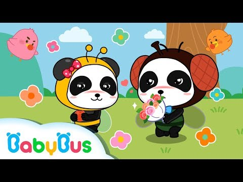 Fiddle De Dee | Nursery Rhymes | Baby Panda Kids Songs | BabyBus