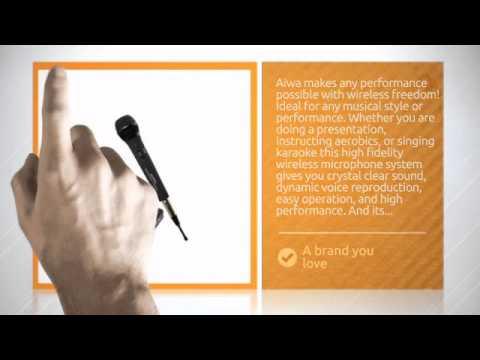 Professional Wireless Handheld Karaoke Microphone Transmitter Receiver System !--DMW2000--  - htt...