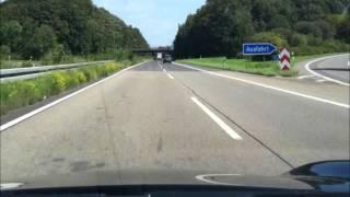 Porsche 9ff 900hp high speed test driving Autobahn [HQ]