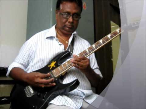 agaya gangai on Guitar by Vijayaraj
