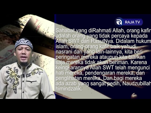 Kesombongan Kaum Musyrikin - AsbabunNuzul QS Al An'am7 - Ust Dikdik