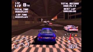 World Driver Championship Playthrough (Actual N64 Capture) - Part 1