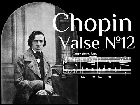 Frederic Chopin - Valse №12 in A flat major Op.70 №2