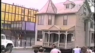 Ann Arbor House Move, 1987 --digitized By Priceless Photo Preservation