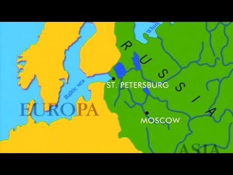 RUSSIA ALONG THE WATER - cruise around the world (Documentary, Discovery, History)